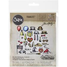 Sizzix Thinlits Tim Holtz Die Set 33pk Crazy Things 660953