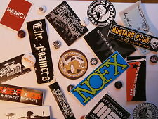 25 Assorted Punk - Ska Stickers & Badges + FREE 73 TrackCompilation CD - All New