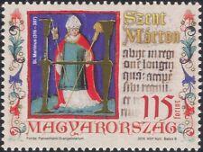 UNGHERIA 2016 Saint Martin-Santi/Religione/arte/DIPINTI/CODEX/PEOPLE 1 V (n45759)