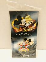 Disney 100 Years Of Dreams State Pin #100 The Magic Is You Florida State Flag