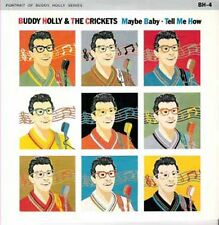 """BUDDY HOLLY - Maybe Baby  (ps)  7"""" 45"""