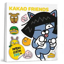 Kakao Friends Sticker Book NEO 195EA Cute Anime Character Profile Emoticon