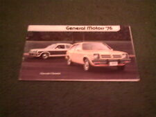 1976 General Motors Chevrolet Buick Cadillac Pontiac Olds GMC CORVETTE brochure