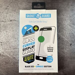 Gadget Guard Black Ice Cornice Glass Screen Protector For Samsung Galaxy Note 8