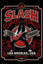 GUNS 'N' ROSES Poster - SLASH WHISKEY LABEL - NEW SLASH Music poster LP2054