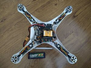 DIY fly controller+esc+motor complete ready for you to build your own drone