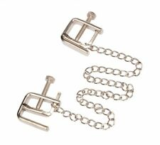 Twist Adjustable Nipple Clips with Chain. Ideal gift for Valentines Day