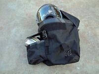 SGE 400/3 Tactical Gas Mask w/Mestel 40mm NATO NBC/CBRN Filter & Drop Leg Pouch