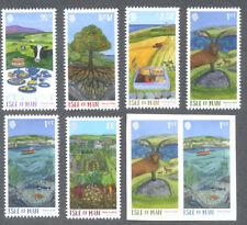 Isle of Man-Green Mann gummed & Self-adhesive sets 2017
