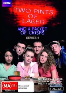 Two Pints Of Lager And A Packet Of Crisps : Series 4 (DVD 2-Disc Set) British