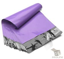 100 Poly Mailers 7.5x10.5 Shipping Bags Packaging Mailing Envelope Purple
