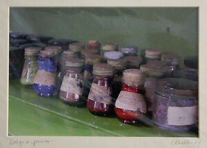 Diego's Paints - Original Photography Matted Signed 2004