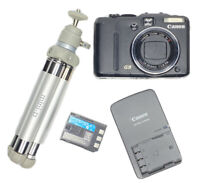 "Canon PowerShot G9 PC1250 12.1MP 6x Zoom 3"" LCD Digital Video Camera w/Battery"
