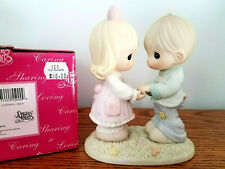 Precious Moments Only You 550000 Boy and Girl Holding Hands