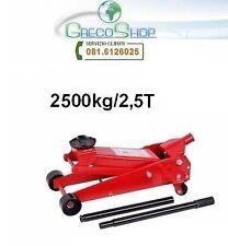 Cric/Sollevatore/Martinetto idraulico a carrello 2,5 Tonnellate /2500Kg
