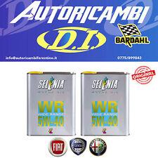 OLIO MOTORE SELENIA WR 5W40 DIESEL 4 LT (4 LITRI ) ORIGINALE PER FIAT ALFA ROMEO