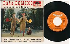 "FATS DOMINO 45 TOURS EP 7"" FRANCE AIN'T GONNA DO IT"