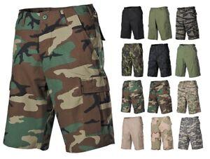 US BERMUDA RIP STOP Army Cargo Shorts Feldhose kurz camouflage Tarnhose Hose BW