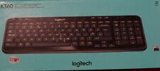 Logitech K360 Funk Tastatur NO DA SWE FI Tastatur layout