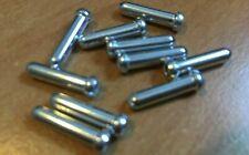 100 x Inner Gear//Brake Bike Cable Ends//Caps//Crimps//Tidy//Ferrule SILVER XTR SRAM