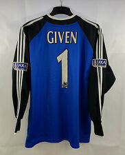 Newcastle United Given 1 Match Issue FA Cup Final 1999 Shirt (XL) Adidas C8
