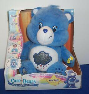 Care Bears Sing A Long Grumpy Bear Electronic Interactive Dancing 11 inch Plush