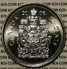 BU PL Canada 2006 P 50 cent 50c half dollar coin proof-like from mint set