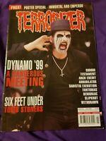 Terrorizer Magazine UK Issue 68 JUL99 Dynamo 99 Six Feet Under Testament Sodom