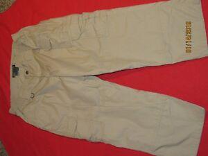 Womens Beige 5.11 Tactical Series Police/EMT/Security Pants 16 Regular