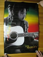 Bob Marley Poster Guitar Shot Mint