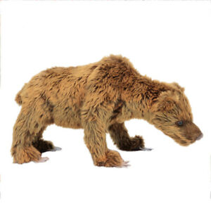 HANSA URSUS SPELAEUS CAVE BEAR REALISTIC CUTE SOFT ANIMAL PLUSH TOY 34cm **NEW**