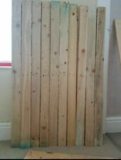 Reclaimed Pallet wood boards x30 / Cladding / DIY 120cm