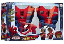 Marvel The Ultimate Spider-Man Mega Kids Laser Set Bleu Rouge