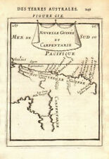 CAPE YORK QUEENSLAND & NEW GUINEA shown joined no Torres Strait. MALLET 1683 map