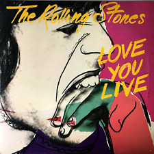 THE ROLLING STONES - LOVE YOU LIVE (LP) (VG-/VG)