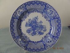 Spode Blue Room Collection Seasons Plate with Floral Urn, June