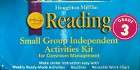 Grade 3 Houghton Mifflin Reading Small Group Independent Activities Kit 3rd
