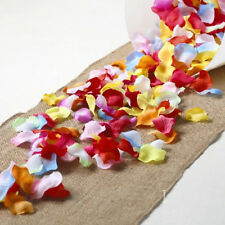 SILK FLOWER PETALS CONFETTI Scatter Wedding Table Party Anniversary Decoration