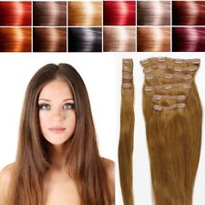 Extra Volume luxury Clip in Remy Human Hair Extensions Thick Double Weft USA