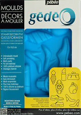 Gedeo 13 X 18.5 Cm Mommy and Daddy Mould Blue