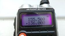 Baofeng Radio Amateur BF-UVB 2 Plus VHF/UHF 136-174/400-520MHZ Two Way Radio 8 W