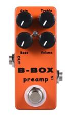 Mosky B-Box Preamp Guitar Effect Pedal Overdrive/Preamp/Booster/True Bypass