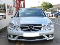 W211 E Class CL AMG Style grill grille Black Models from 2006 onwards