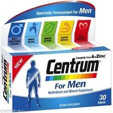 Vitaminas y minerales Centrum para hombres