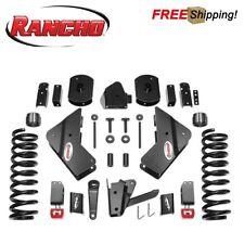 """Rancho 4.5"""" Suspension Lift Kit Fits 2014-2018 Ram 2500 3500 Cummins Diesel 4WD"""