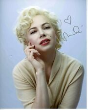 MICHELLE WILLIAMS Signed Autographed MY WEEK WITH MARILYN MONROE Photo