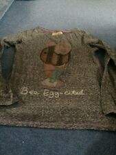 NEXT BEE EGG-CITED L/S T SHIRT AGE 11 Ex con
