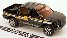 Matchbox 2007 Honda Ridgeline Pickup Truck Black ('05-08 Body) 1/64 Scale