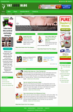 FAT LOSS - Professionally Designed Affiliate Website - Free Installation
