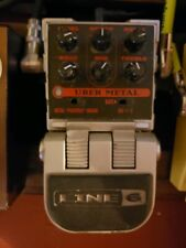 Line6 - Uber Metal - High Gain Distortion Guitar Pedal